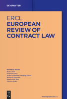 Abbildung: European Review of Contract Law (ERCL)